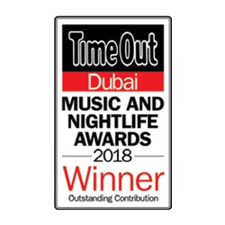 Outstanding Contribution Solutions Leisure TimeOut Dubai Music and Nightlife Awards 2018