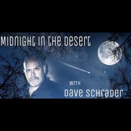 Midnight in the Desert by Dave Schraper