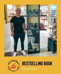 BESTSELLING BOOK IN DUBAI DUTY FREE